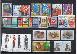 Malta - 1989 - Lotto 22 Francobolli (Annata Completa) - Nuovi - Vedi Foto - (FDC14218) - Malta