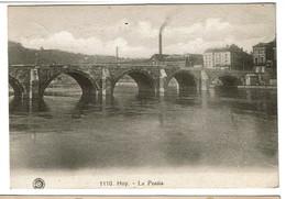 Huy - Le Pontia - 1920 - Edit. G. Hermans N° 1110  - 2 Scans - Hoei