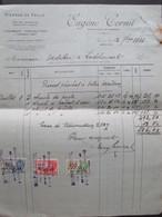 VP FACTURE (M1617) JUMET (2 VUES) Eugène Cornil Marchand De Pierres 1933 - Belgique