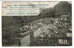 Liège Rue Herman-Reuleaux (Amercoeur) EMILE LIBOIS Entrepreneur - Pierres De Taille - 1924  - 2 Scans - Luik