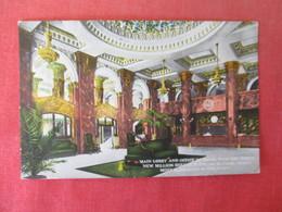 Main Lobby & Office Of Hotel Paso Del Norte     - Texas > El Paso   Ref 3166 - El Paso