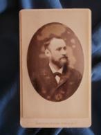 CDV Photo Maujean Dubois à Paris - Portrait De Gustave Forrer ( De Witerthur) Vers 1880-85 L425A - Anciennes (Av. 1900)