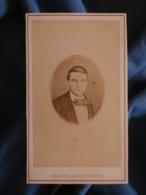 CDV Photo Maujean Et Dubois à Paris - Portrait De Joseph Lahayefin Second Empire Vers 1870 L425A - Anciennes (Av. 1900)