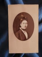 CDV Photo Walery à Paris - Portrait De Mlle Houdard Fille De Charles Vers 1875 L425A - Anciennes (Av. 1900)
