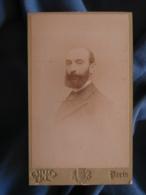 CDV Photo Otto à Paris - Portrait De Adolphe Houdard Sous Préfet De Bonneville Vers 1895 L425A - Anciennes (Av. 1900)