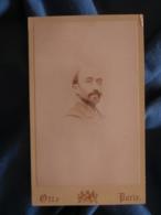 CDV Photo Otto à Paris - Portrait De Charles Houdard (mal Rasé) Vers 1895-1900 L425A - Anciennes (Av. 1900)