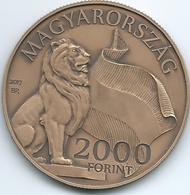 Hungary - Republic - 2000 Forint - 2017 - NEH - Kossuth Square - Hongrie