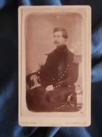CDV Photo U. Grob à Paris - Repro (ca 1880) Portrait Second Empire Militaire Lieutenant Du Génie (Leroy) Ca 1860 L425A - Anciennes (Av. 1900)