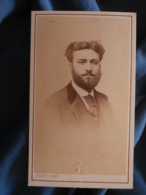 CDV Photo Godet à Paris - Second Empire Portrait Auguste Renaut à 22 Ans 1870 L425A - Anciennes (Av. 1900)