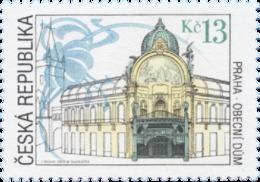 ** 263 Czech Republic Obecní Dum City House 2000 Jugendstile Art Nouveau Mucha's Decorations - Architektur