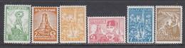 Bulgaria 1934 - Monument - Chipka (II), YT 244/49, MNH** - 1909-45 Royaume