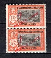 INDE N° 162 SURCHARGE PRANCE AU LIEU DE FRANCE  NEUFS SANS CHARNIERE COTE 42.80€  TEMPLE - India (1892-1954)