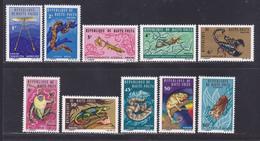 HAUTE-VOLTA N°  160 à 169 ** MNH Neufs Sans Charnière, TB (D8532) Animaux Divers 1966 - Haute-Volta (1958-1984)