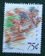 75 C The 17th Southeast Asian Games Running 1993 Mi 692 Used Gebruikt Oblitere SINGAPORE SINGAPUR - Singapur (1959-...)