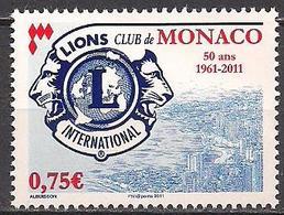 Monaco  (2011)  Mi.Nr.  3034  ** / Mnh  (12ah30) - Monaco