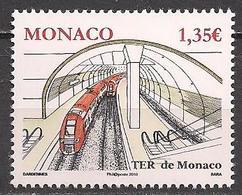 Monaco  (2010)  Mi.Nr.  3009  ** / Mnh  (12ah33) - Monaco
