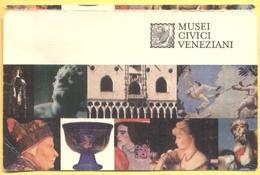 ITALIA - ITALY - ITALIE - VENEZIA - Musei Civici Veneziani - I Musei Di Piazza San Marco - MUSEUM CARD - Biglietto Ingre - Biglietti D'ingresso