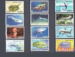 Samoa 2015 Fish Stamp Official - Samoa