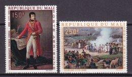 "1969-(MNH=**) Mali Posta Aerea S.2v.""Napoleone Bonaparte Quadri"" - Mali (1959-...)"