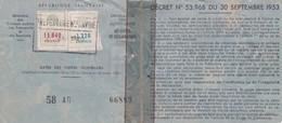 T.F. Automobiles N°94 & 112 Sur Carte Grise - Fiscaux