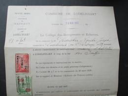 VP COMMUNE DE LODELINSART (M1617) AUTORISATION DE CONSTRUIRE (2 VUES) Rue Des Sartyrs - Belgique