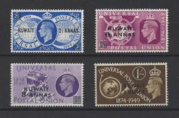 KUWAIT.  YT  N° 91/94  Neuf **  1949 - Koweït