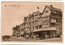 Coxyde-Bains / Baden - Avenue De La Mer / Zeelaan - Poissnnerie Au Vrai Pêcheur - 2 Scans - Koksijde