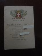 PAGELLA REGNO D'ITALIA-1926 - Diploma & School Reports