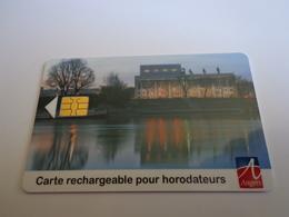 CARTE DE STATIONNEMENT RECHARGEABLE VILLE DE ANGERS - Schede Telefoniche