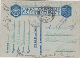 Italy 1941 Posta Militare N 10 Cartolina  Postale Per Le Forze Armate - 1900-44 Vittorio Emanuele III