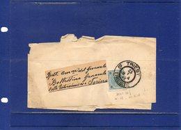 ##(DAN192)-POSTAL HISTORY-Austria- Triest  -1897 -  Newspaper Wrapper  To Torino - Italy - 1850-1918 Impero