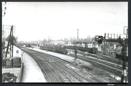 Photo M. Maillet - Gare De Cosne En 1934 - Rame Avec Locomotive 121 En Gare - Voir 2 Scans - Cosne Cours Sur Loire