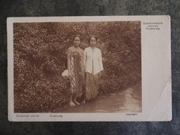 SUNDANESE WOMEN BUITENZORG  PETITE TRACE DE PLIURES  SOENDANEESCHE VROUWEN - Indonésie