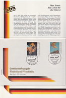 Germany / France Joint Issue FDC - Joint Issues