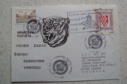 MISSIONI INTERNAZIONALI ONU NATO CROAZIA CROATIA RATISTA HRVATSKA BRIGATA TICROVI UNPROFOR BOSNIA RARI ANNULLI - Croazia
