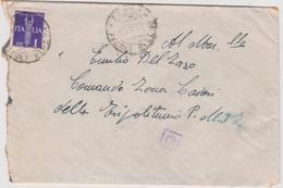 Italy 1942 Busta Aerea From Ascoli Piceno To Tripolitania - 1900-44 Vittorio Emanuele III