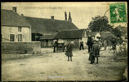 Cpa  Annoire (39)  Grande Rue,   Animée - France