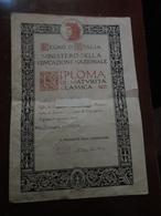REGNO D'ITALIA-MINISTERO DELLA EDUCAZIONE NAZIONALE-MATURITA' CLASSICA-1940 - Diploma & School Reports