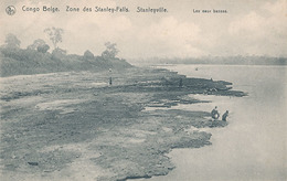 STANLEVILLE - CONGO BELGE - ZONE DES STANLEY-FALLS - STANLEVILLE - LES EAUX BASSES - Congo Belge - Autres