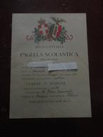 REGNO D'ITALIA - PAGELLA SCOLASTICA ANNO 1928 - Diploma & School Reports