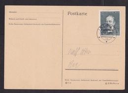 Germany/ Grossdeutsches Reich/ Occupied Bohemia: Postcard, 1944, 1 Stamp, Cancel Iglau (traces Of Use) - Bohemen En Moravïe