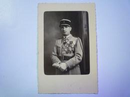 2019  (522)  Carte Photo D'un Militaire Du 18è Régiment D'Infanterie   XXX - Guerre 1939-45