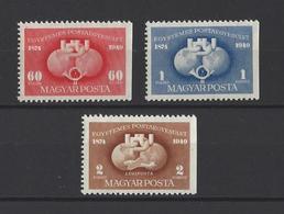 HONGRIE.  YT  N° 916/917 PA N° 90 (dentelés Sur Trois Cotés)  Neuf **  1949 - Hongrie