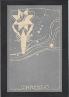 CPA Zodiaque Art Nouveau Illustrateur Non Circulé - Philosophy