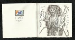PREMIER JOUR . CONSEIL DE L'EUROPE  . 20 FEVRIER 1971 . STRASBOURG . - FDC