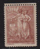 Vignette - Suffrage Universel - Commemorative Labels
