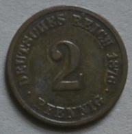 Kaisser 2 Pf. Moneta Imperiale  A Vedi Foto - [ 2] 1871-1918 : Impero Tedesco