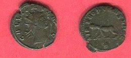 GALLIEN ANTONINIEN SISCIA  ( C 586 RIC 574 ) TB  14 - 5. L'Anarchie Militaire (235 à 284)
