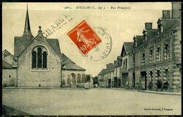 Cpa  Soudan  Rue Principale - Sonstige Gemeinden