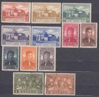 Spain 1930 Airmail Mi#518-529 Mint Hinged/used - Neufs